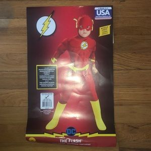 "Size (Medium) boys ""The Flash costume! Halloween"